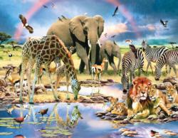 Cradle of Life Africa Jigsaw Puzzle