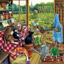 Garden Helpers Farm Jigsaw Puzzle