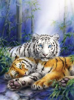 Together Always Tigers Jigsaw Puzzle