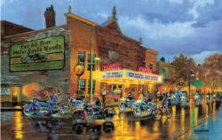 American Classics Motorcycles Jigsaw Puzzle