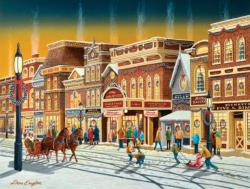 Hometown Weekend Christmas Jigsaw Puzzle