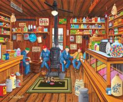 Old Friends General Store Jigsaw Puzzle