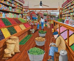 The Shop Keeper Shopping Jigsaw Puzzle