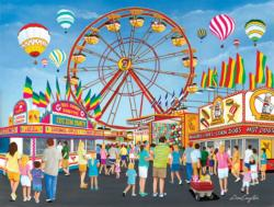On the Midway Carnival Jigsaw Puzzle