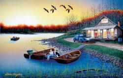 Jack's Place Cottage / Cabin Jigsaw Puzzle