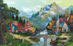 Heaven's Overature Cottage / Cabin Jigsaw Puzzle
