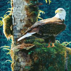 Nature's Chapel Eagles Jigsaw Puzzle