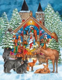 All Will Adore Him Christmas Jigsaw Puzzle