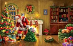 Santa's Special Delivery Christmas Jigsaw Puzzle