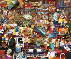 20th Century History Collage Jigsaw Puzzle