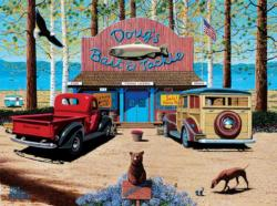 Doug's Bait Shop General Store Jigsaw Puzzle