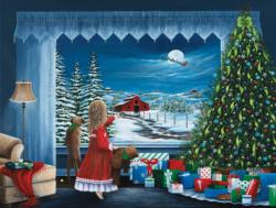 Santa's Coming Christmas Jigsaw Puzzle