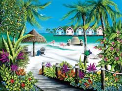 Tropical Escape Beach Jigsaw Puzzle