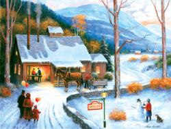 Sap House Winter Jigsaw Puzzle