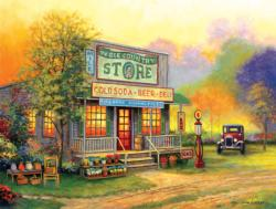 The Ole Country Store General Store Jigsaw Puzzle