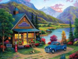 Lake Country Store Lakes / Rivers / Streams Jigsaw Puzzle