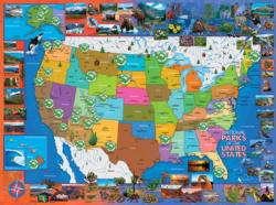 National Parks of the USA National Parks Jigsaw Puzzle