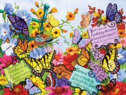 Butterfly Oasis Garden Jigsaw Puzzle