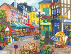 French Market France Jigsaw Puzzle