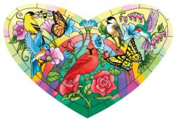 Heart of the Garden Shaped Puzzle