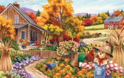 Livin in the Country Fall Jigsaw Puzzle