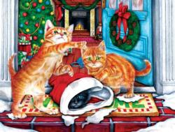 On the Doorstep Christmas Jigsaw Puzzle