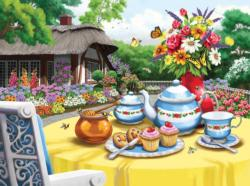 Honey and  Tea Garden Jigsaw Puzzle
