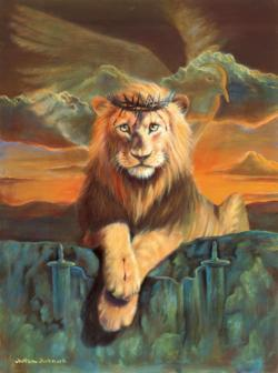 Lion of Judah Lions Jigsaw Puzzle