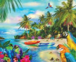 A Moment in Dreams Birds Jigsaw Puzzle