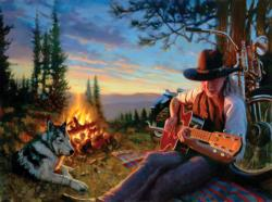 Black Hills Ballad Outdoors Jigsaw Puzzle