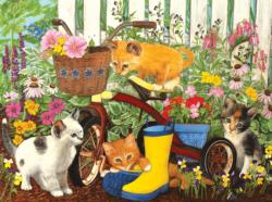 I Can't reach the Pedals! Kittens Jigsaw Puzzle