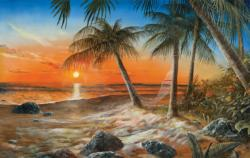 Dreams of Paradise Sunrise / Sunset Jigsaw Puzzle