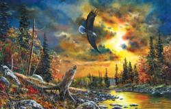 Sky Watcher Landscape Jigsaw Puzzle