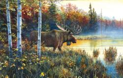 Master of His Domain Wildlife Jigsaw Puzzle