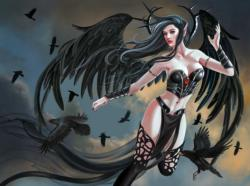 Thorn Angel Fantasy Jigsaw Puzzle