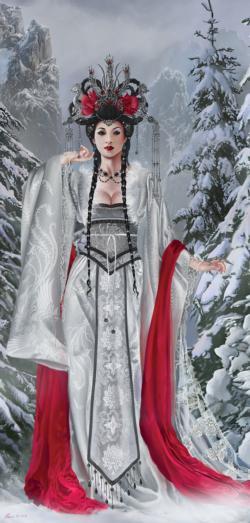 Empress Snow Jigsaw Puzzle