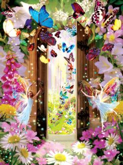 Fairy Door Fairies Jigsaw Puzzle