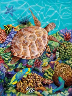 Liquid Flight Turtles Jigsaw Puzzle