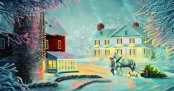 Coming Home Winter Jigsaw Puzzle