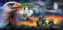 War Eagle Military / Warfare Jigsaw Puzzle