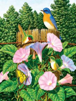 Early Morning Flowers Jigsaw Puzzle