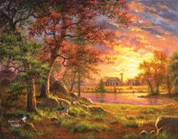 A Place to Call Home Sunrise / Sunset Jigsaw Puzzle