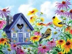 Tweethearts Flowers Jigsaw Puzzle