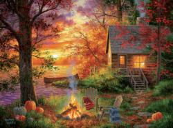Sunset Serenity Sunrise / Sunset Jigsaw Puzzle