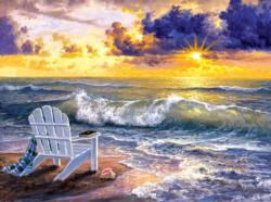 Be Still Beach Jigsaw Puzzle
