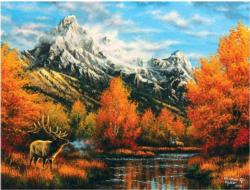 Early Light Forest Jigsaw Puzzle