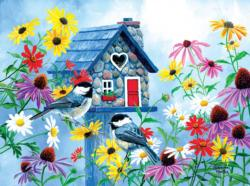 Tweethearts Cottage Cottage / Cabin Jigsaw Puzzle