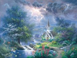 Sweet Hour of Prayer Lakes / Rivers / Streams Jigsaw Puzzle