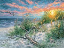 Beach Life Sunrise / Sunset Jigsaw Puzzle