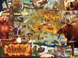 Alaska, the Final Frontier Collage Jigsaw Puzzle